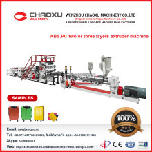 ABS PC Luggage Sheet Extruder Machine in Popular Sale